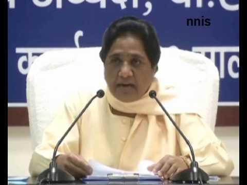 Mayawati Selects Two Dalit Candidates For Rajya Sabha