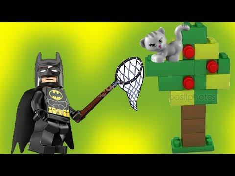 Бэтмен на побегушках. Лего мультики на русском. Майнкрафт, Нексо найтс, Джокер, Полиция.