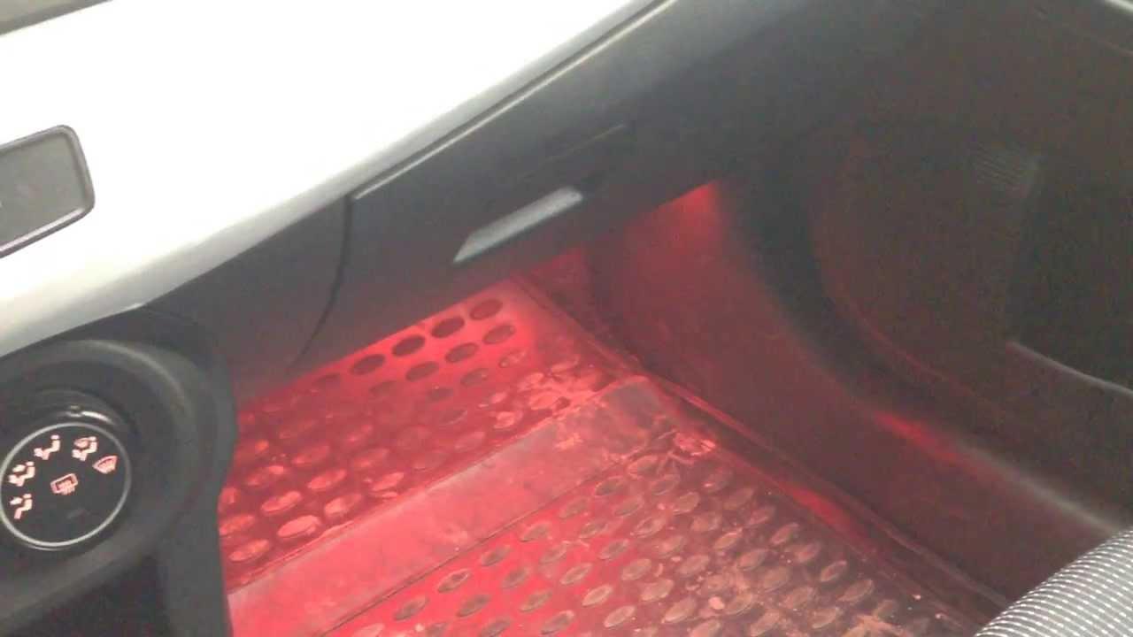 Подсветка ног лансер 10 своими руками 71
