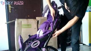 Giới thiệu xe đẩy Zaracos Larry 3186 cho bé - BABY PLAZA