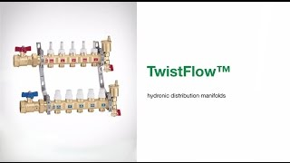TwistFlow™ - Hydronic Distribution Manifolds