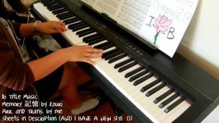 Ib Title Music - Memory 記憶 (piano by ear w/ sheets)