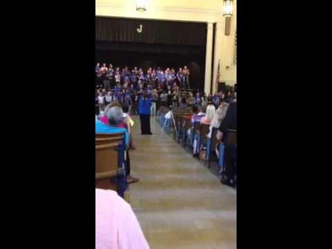 Johnson Traditional Middle School Choirs 2013 ; Lean on me