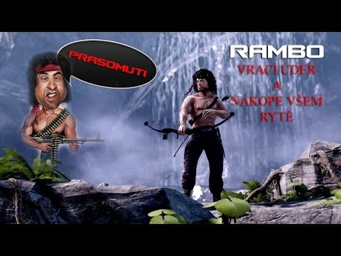 Rambo se vrací a nakope všem rytě (Rambo The Video Game CZ Let's play)