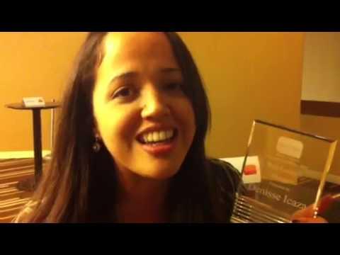 Gané el premio de Best Latina Vlogger (video blogger) en LA
