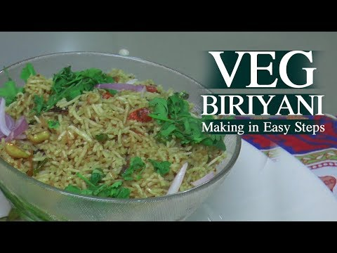 Vegetable Biriyani Making in Telugu | Home Made Vegetable Pulav Recipe in EASY STEPS | Eater Kitchen