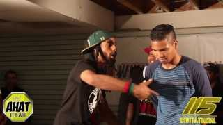 AHAT Rap Battle | Emerson Kennedy vs Sonic Soundwaveus | Utah vs California