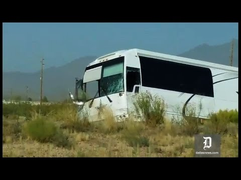 Dallas Cowboys bus involved in crash that killed 4 in Arizona