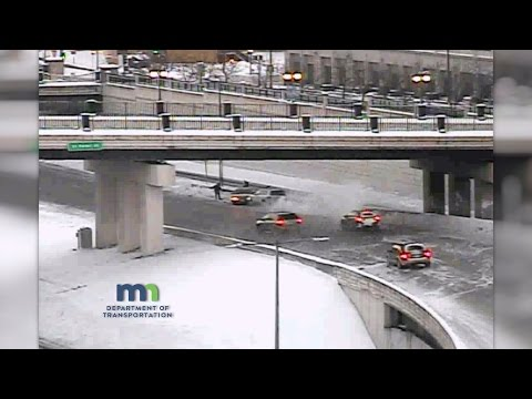 Traffic Cam: Multi-Vehicle Crash on Eastbound I-94