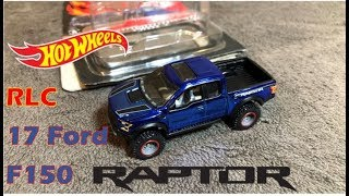 Hot Wheels - 2018 RLC Ford F150 RAPTOR - Open & Review