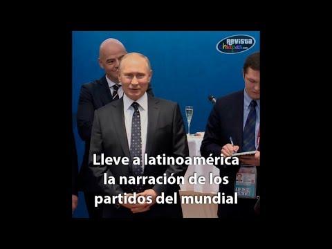 Putin designa a chiapaneco #LordGoku como comentarista para #Rusia2018