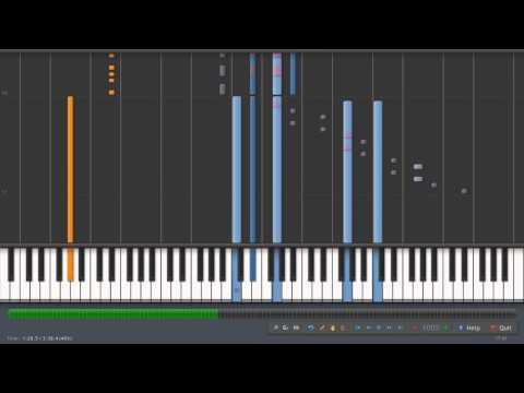 Gundam Wing Op 2 Rhythm Emotion On Synthesia video
