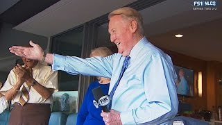 Vin announces start of game on FS1