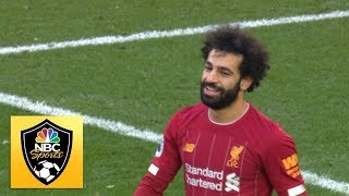 Mohamed Salah wraps up the points for Liverpool against Watford | Premier League | NBC Sports