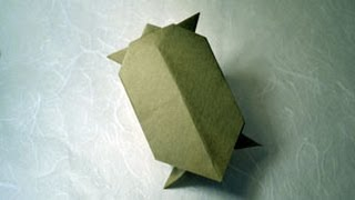 Origami Tortoise Instructions: Www.origami-fun.com