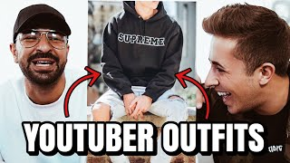 YOUTUBER OUTFITS ERRATEN! 👕