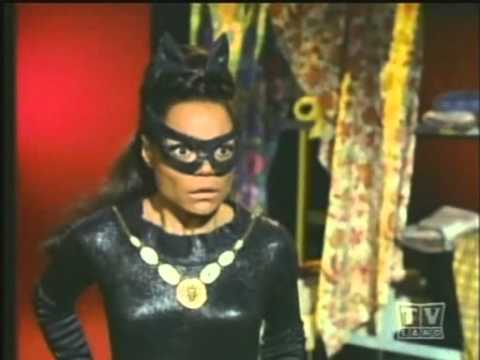Eartha Kitt as The Catwoman on Batman's TV Series