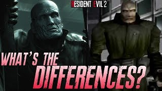 Mr X Resident Evil 2 Remake - (Differences with the Original and Remake of MR X)