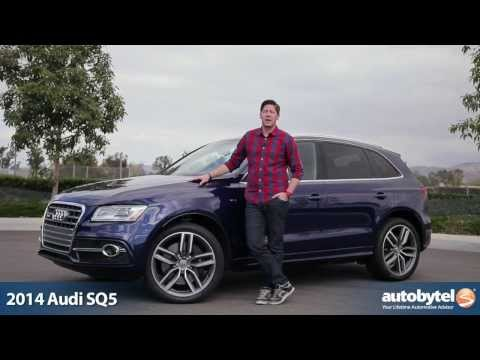 2014 Audi SQ5 Test Drive Video Review - 354 Horsepower Crossover SUV