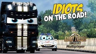 Euro Truck Simulator 2 Multiplayer   Funny Moments & Crash Compilation   #41