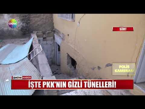 İşte PKK'nın gizli tünelleri!