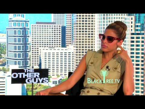 Eva Mendes talks about 'Nerds & Pimps' in The Other Guys Video