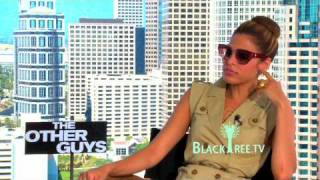Eva Mendes talks about 'Nerds & Pimps' in The Other Guys