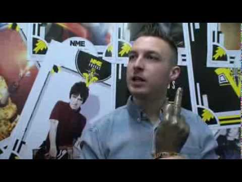 Arctic Monkeys&#039; Drummer Matt Helders On Winning Best Music Video - NME Awards 2013 Backstage