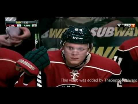 Mikael Granlund scores his first career goal in NHL 19.01.2013