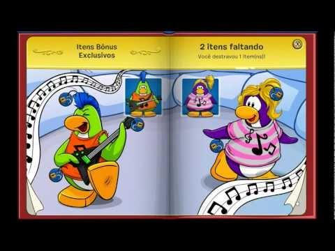 Club Penguin - Desbloqueando 3 Itens do Livro dos Tesouros
