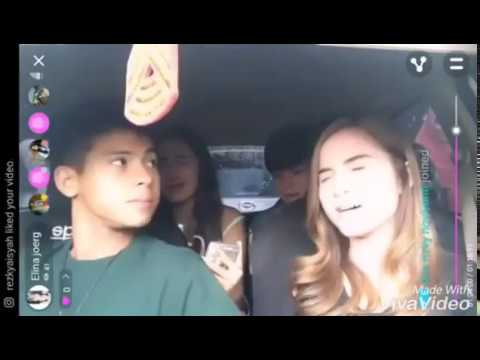arnold elina dan syifa angga double date dalam mobil