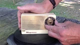 1956 Magnavox AM-5 Transistor Radio