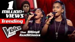 Ayashma Thathsarani | Rawana Blind Auditions | The Voice Teens Sri Lanka
