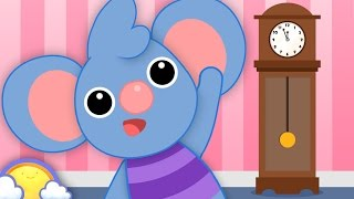 Hickory Dickory Dock | Nursery Rhymes for Children | CheeriToons