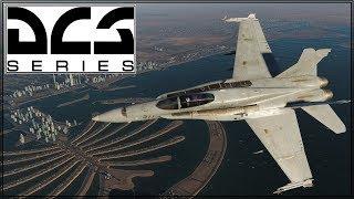 DCS 2.5 - Persian Gulf - F/A-18C - Online Play - Hot Spot