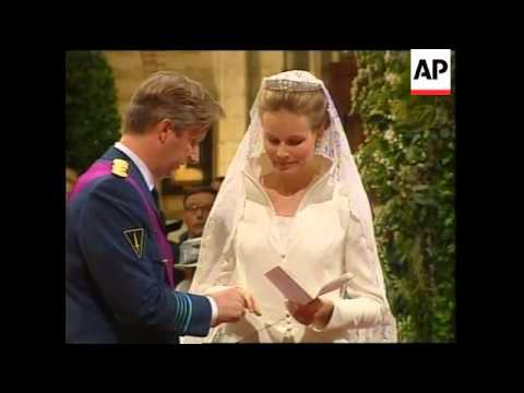 BELGIUM: CROWN PRINCE PHILIPPE WEDDING