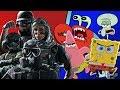 Operatori Rainbow Six Versione Spongebob (Parodia Spongebob) -