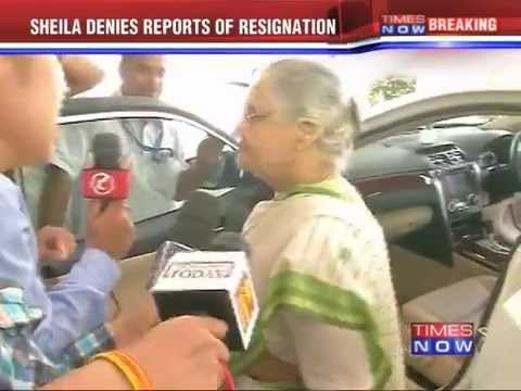 Kerala Governor Sheila Dikshit denies reports of resignation