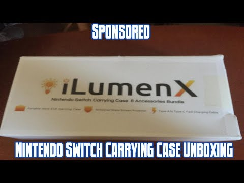 iLumenX Switch Carrying Case Unboxing (Sponsored)