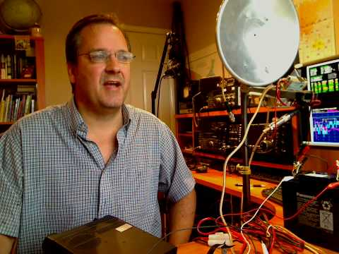Installing a GPSDO to stabilize a 24 GHZ Microwave Beacon