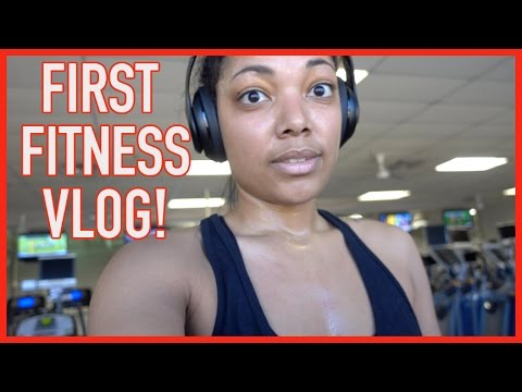 FIRST FITNESS VLOG!