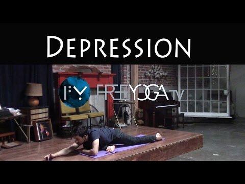 Yoga for Depression | Hatha Yoga Class | Intermediate Stephen Beitler TaHa Yoga