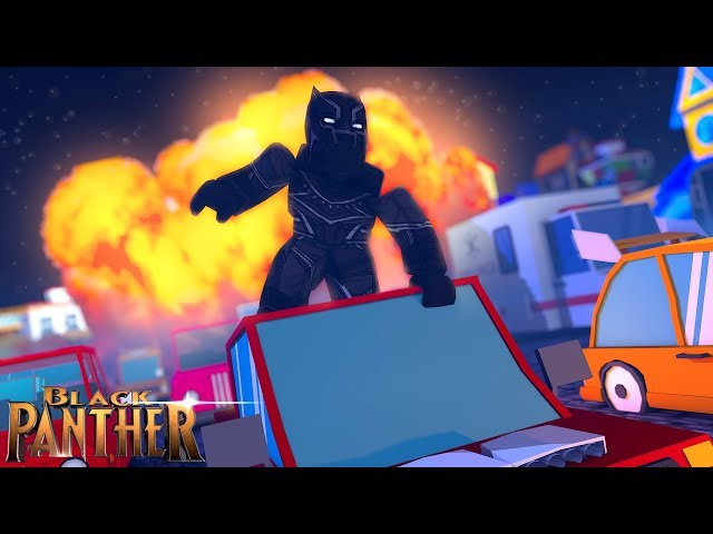 ROBLOX - THE BLACK PANTHER MOVIE!!