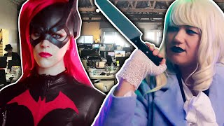 Kelsey and Jen Become a Hero and a Villain for a Day // Presented by BuzzFeed Video & The CW