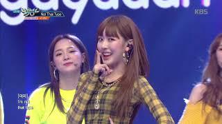 뮤직뱅크 Music Bank Not That Type 구구단 Gugudan 20181116