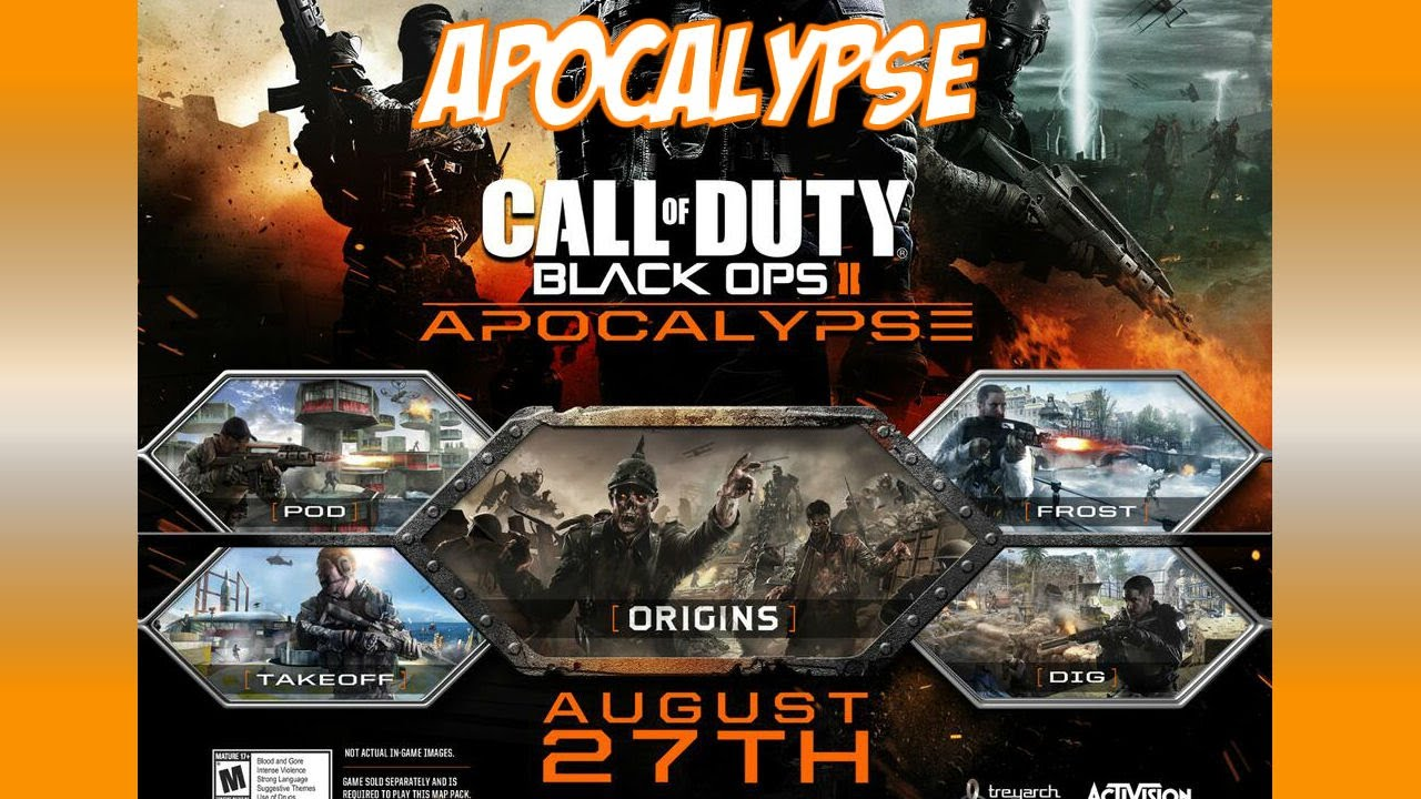 Black Ops 2 Apocalypse Dlc Pack 4 Origins Zombies