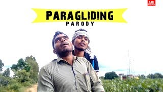 Paragliding Parody | funny Video | EASY4US || E4U