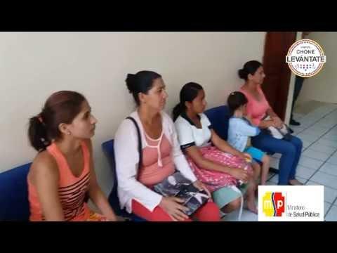 Centro de Salud Chone brinda atención en instalaciones de la Cruz Roja