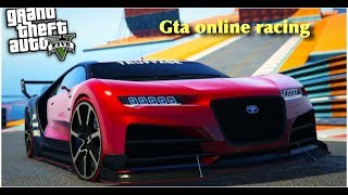 Grand Theft Auto V online racing  funny moments