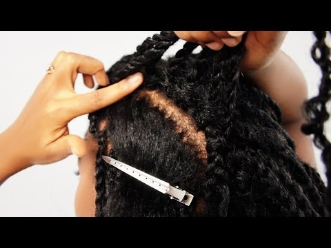 Mrs Rutters Perimeter Crochet Kinky Twists Tutorial Part 8 of 8 - Removing Cornrow Crochet Twist